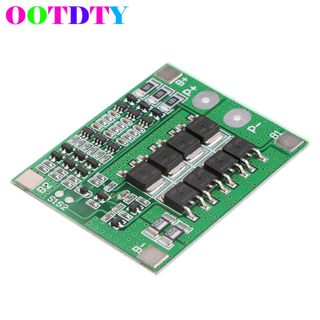 3S 11.1V 12.6V 25A W/Balance 18650 Li-ion Lithium Battery PCB Protection Board