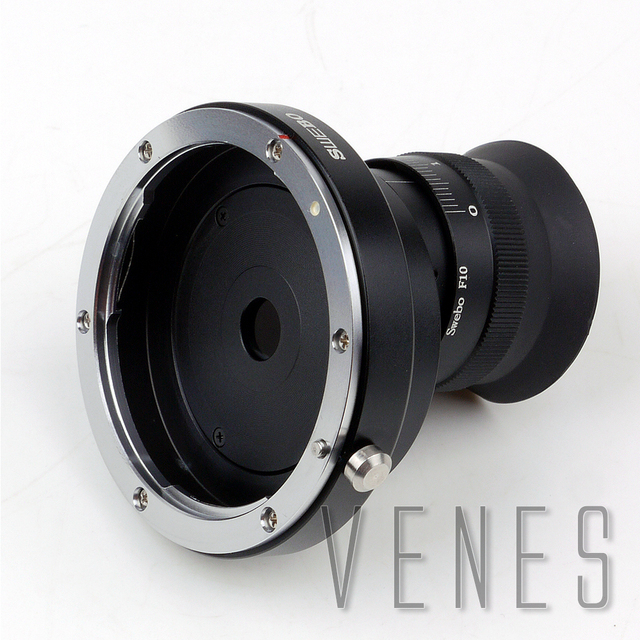 SWEBO Fourth Generation Lens to Telescope Adapter Work For C anon E O S EF Mount