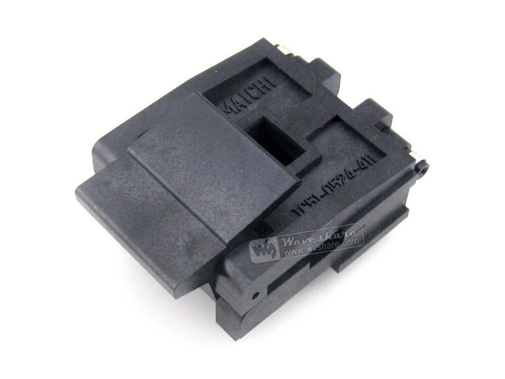 module IC51-0524-411-1 Yamaichi IC Test Socket 1.27mm Pitch PLCC52 package