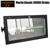 Gigertop 600W New Martin Atomic 3000 Led Strobe Light Background RGB Array Lighting Touchable Screen 3PIN/5PIN DMX Socket
