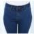 Tamanho grande Magro Elástico calças de Ganga Para Mulheres Com Cintura Alta Esticar Lápis Tamanho Grande Calças Jeans Preto das Mulheres Para mulheres