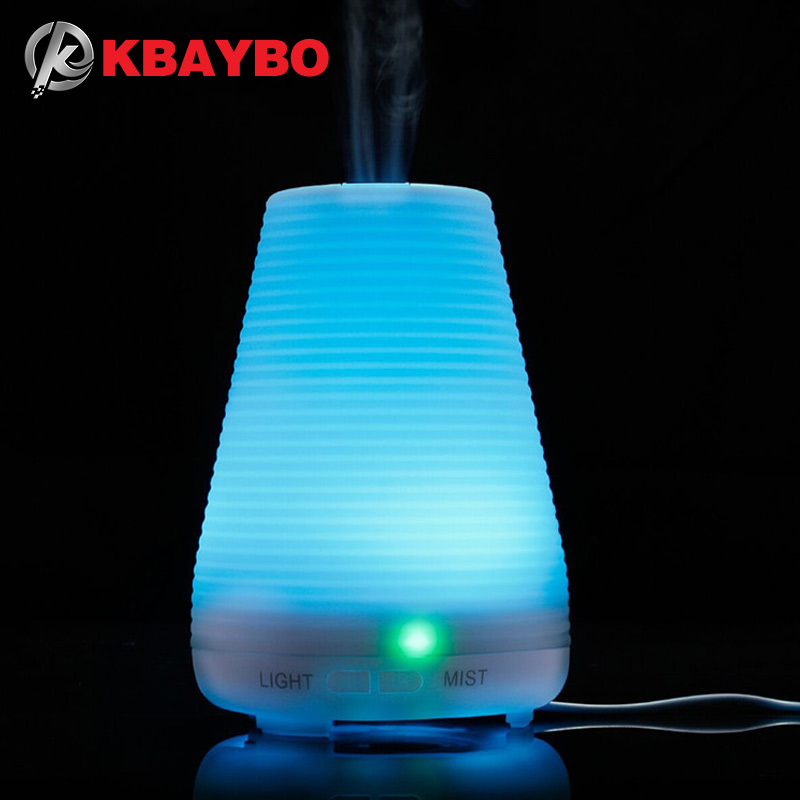 Color Changing Led Ultrasonic Aromatherapy Diffuser