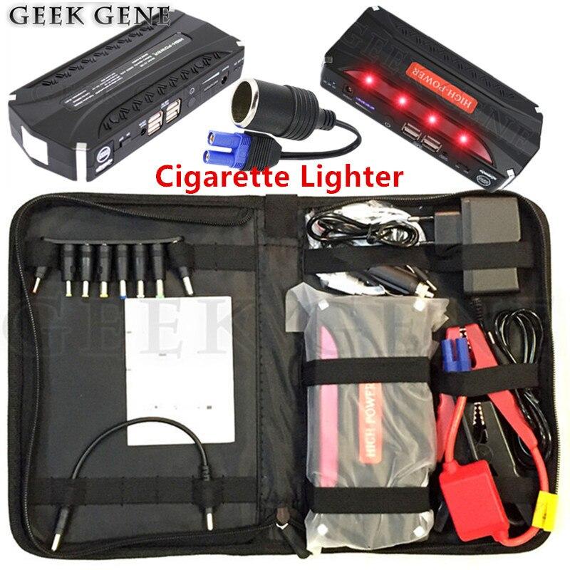 Car Jump Starter 12V 600A Portable Lighter Power Bank Car Charger For Car Battery Booster Buster