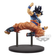 Tronzo oryginalny Banpresto Dragon Ball Super DBZ FES 10 Goku Ultra Instinct SSJ Goku czarne włosy pcv Action model figurki lalki(China)