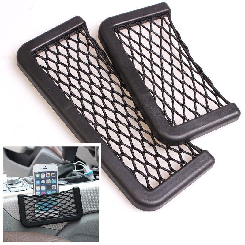 SIANCS Pocket Cellphone Holder Car Wall Net Storage Bag for iPhone 5 5S 6 6 Plus Samsung LG Smartphone Viechle Door Organizer