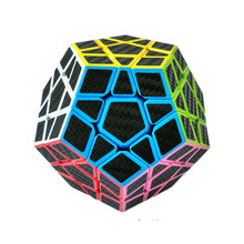 ZCUBE  7 kinds Carbon Fiber Sticker Speed Magic Cubes Puzzle Toy Children Kids Gift Toy Youth Adult Instruction