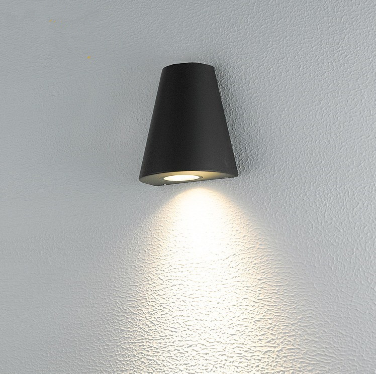 ФОТО 3w led porch light outdoor wall lamps cree led chip aluminum wall sconce warm white led spotlight