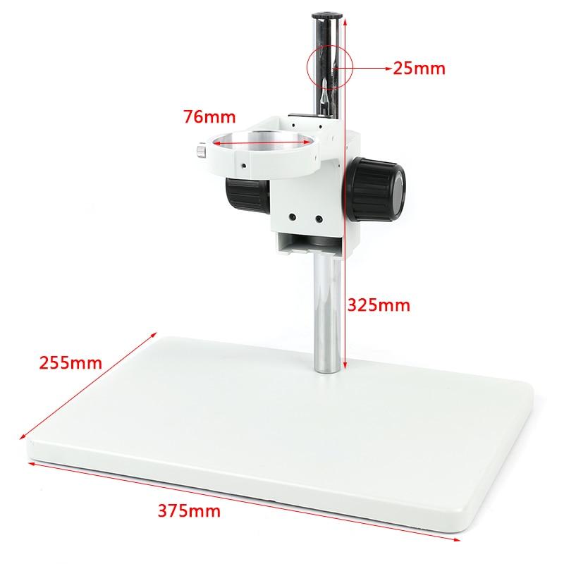 Eakins simul-focal 7-45X Zoom Microscope stéréo trinoculaire 144 LED anneau lumière isolation réparation tapis de travail - 3