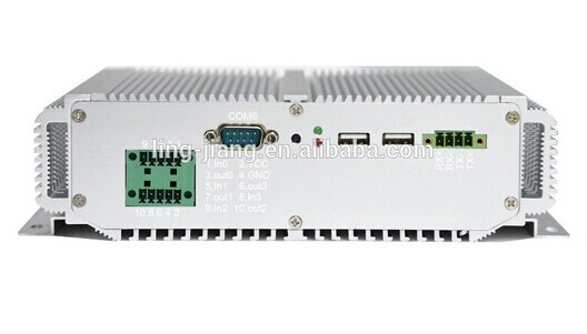 Rack Mount Fanless 1037U 1.8GHZ 2GB RAM Industrial Computer With RS232  Wide Voltage 9v~25V Fanless Mini Pc   (LBOX-1037U)