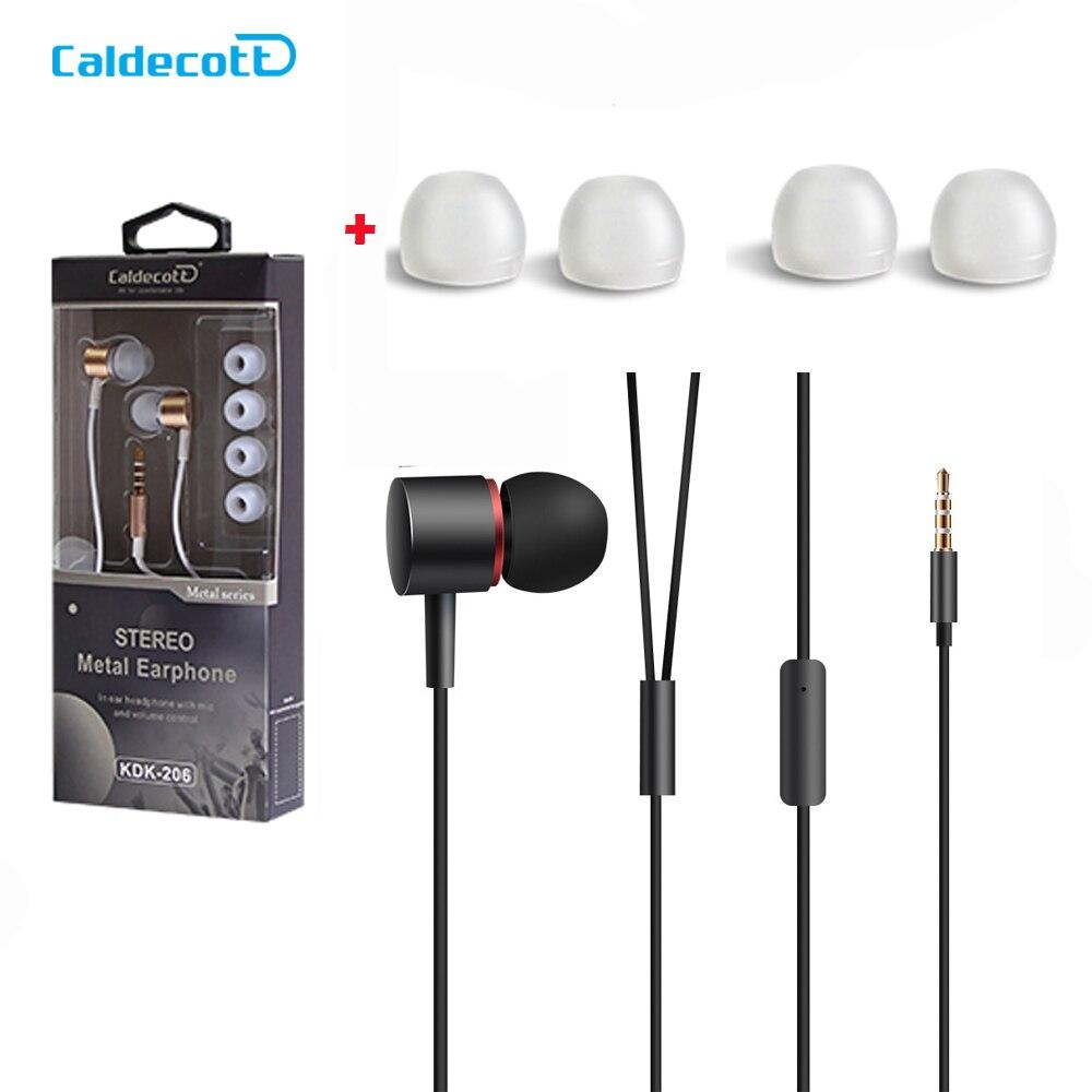 3.5 MM Classic In Ear Wired Metallo Bass Dj Stereo Hifi auricolare Musica Sport Auricolari per Iphone Xiaomi Samsung classico eaphone VENDITE