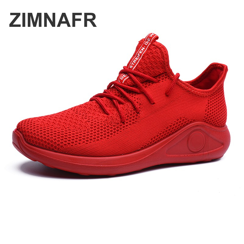 zimnafr women fashion sneakers female red shoes breathable mesh women summer shoes soft bottom casual fashion shoes women