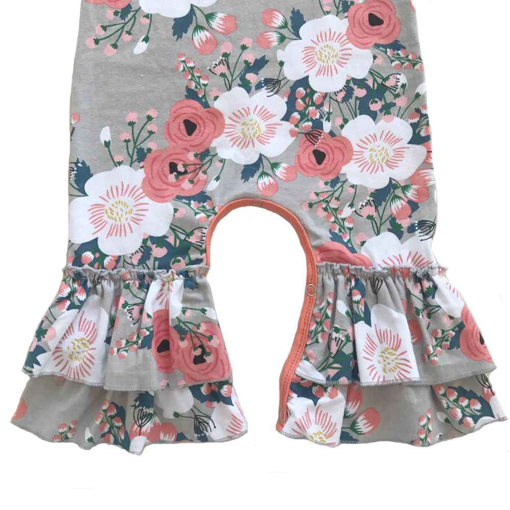 05542124d Detail Feedback Questions about Twins Cotton floral Ruffle romper ...
