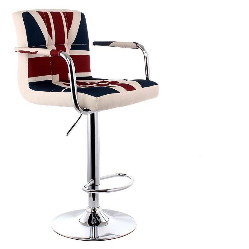 Swivel Bar Stool Office Chairs Lifting Bar Stool Adjustable Height Multiple Colour Rotatable Tabouret De Bar Taburete