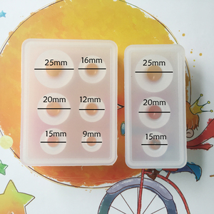 Image 3 - Transparant Siliconen Mal Hars Decoratieve Craft Diy Verschillende Maten Universe Bal Shpe Type Epoxyhars Mallen Voor Sieraden