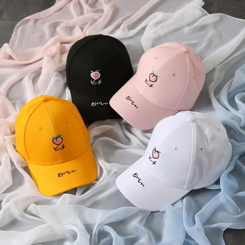 6ecaa243 2019 Fashion Baseball Cap Women Washed denim Men Dad Hat Rapper Hip ...
