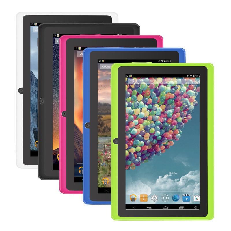 7 Inch Tablet PC Google A33 Android 4.4 Quad Core 8GB Bluetooth WiFi Flash Tablet PC