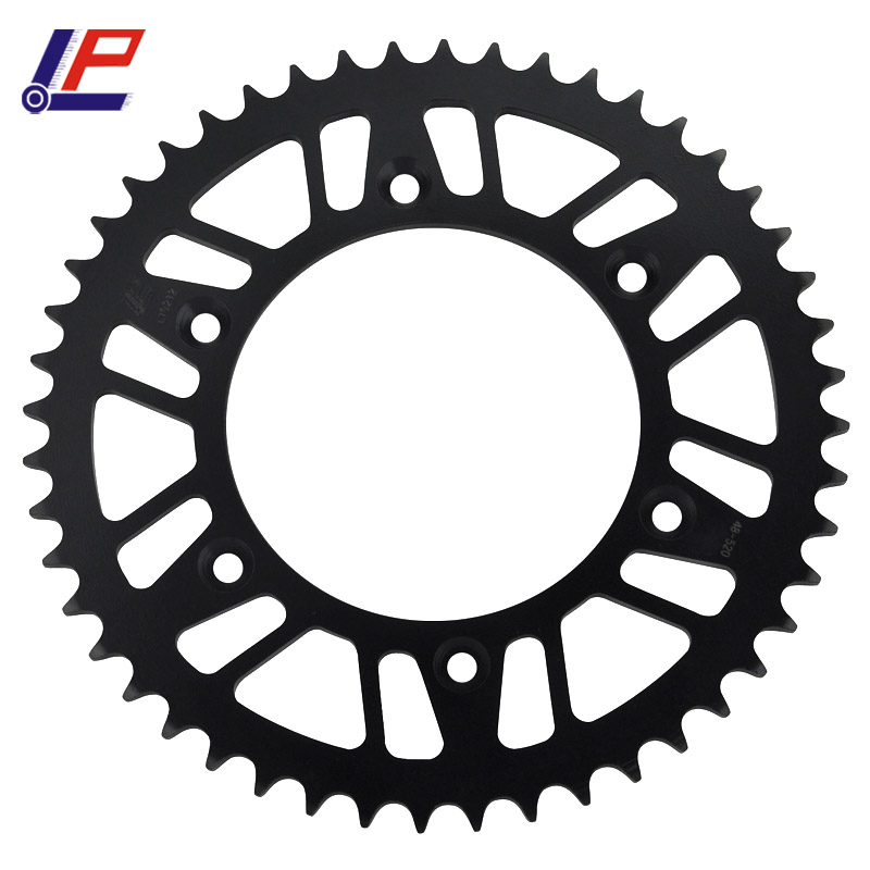 520 <font><b>38T</b></font> 39T 40T 42T 45T 47T 48T 49T 50T 51T 52T 53T 60T Motorcycle <font><b>Sprocket</b></font> For Honda XR CR CRM CRF 125 150 230 250 400 450 500 image