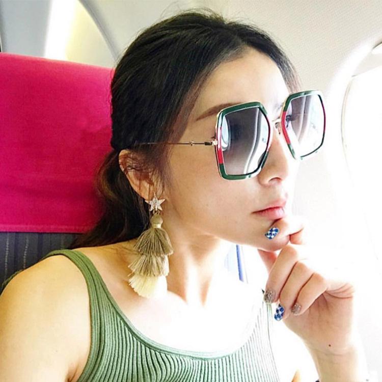 HTB1j0g1d9fD8KJjSszhq6zIJFXaw - Square Luxury Sun Glasses Brand Designer Ladies Oversized Crystal Sunglasses Women Big Frame Mirror Sun Glasses For Female UV400