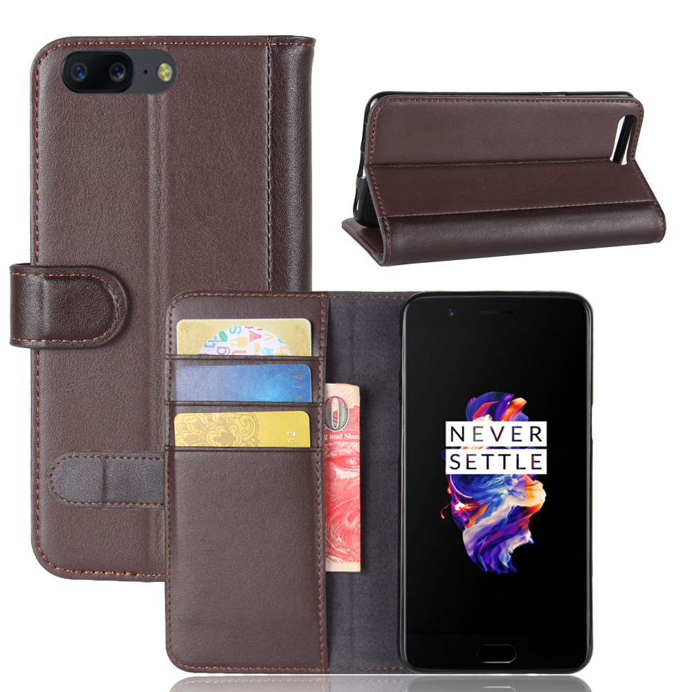 buy online f73a9 d151f US $7.13 14% OFF|For Oneplus 5 Luxury Genuine Leather Case Oneplus 5  Leather Stand Flip Phone Case Cover Coque High Quality Oneplus 5-in Flip  Cases ...