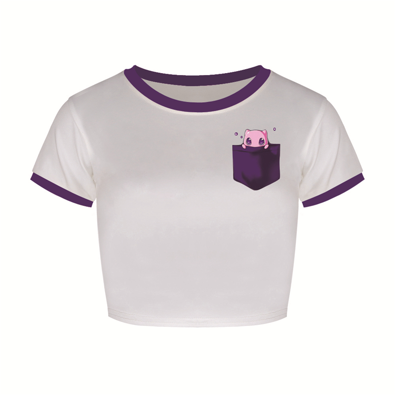 rosa-jigglypuff-padrao-top-curto-lindo-blusas-basicas-tee-o-pescoco-font-b-pokemon-b-font-ir-tshirt-secagem-rapida-t-camisas-de-manga-curta-mulher-ftjst