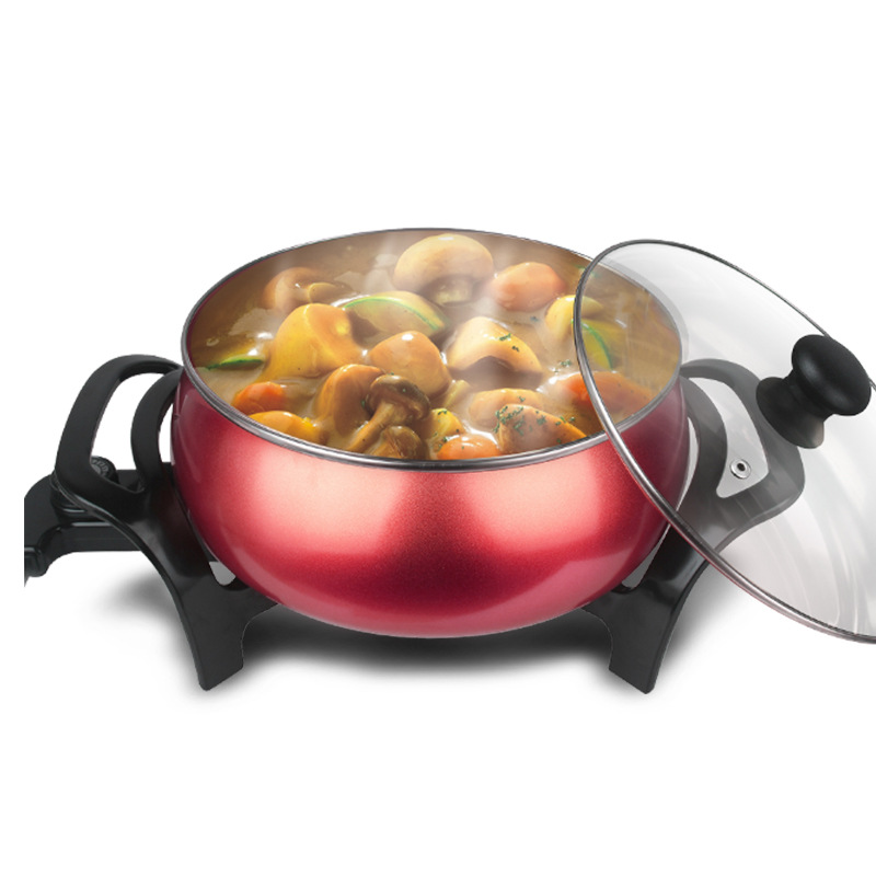 overnight slow cooker noodle pot hotpot electricpot stainless steel hotpot mini electric cooker soup maker Cooking Appliances