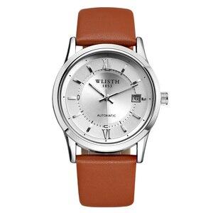 Image 5 - WLISTH reloj mecánico para hombre, automático, deportivo, el mejor regalo, 2017