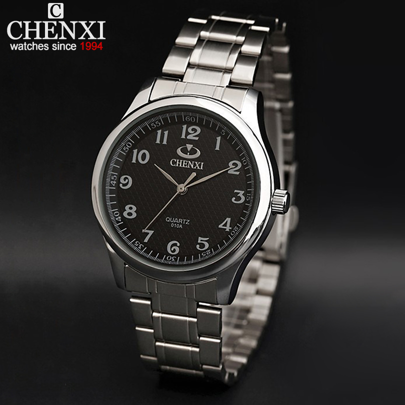 Sale Relojes Free Shipping For Men Black And White Dial