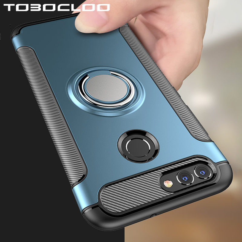Heavy Duty Armor Case For Huawei P20 Lite P30 Pro P10 P Smart 2019 Plus Honor 8 9 10 8X 7X 8S Mate 20 NOVA 3 3i 10i Holder Cover