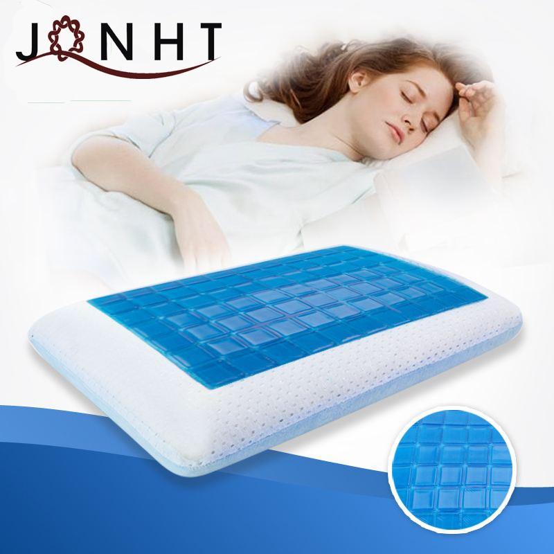 100% polyuréthane Visco élastique classique refroidissement oreiller en mousse à mémoire de forme