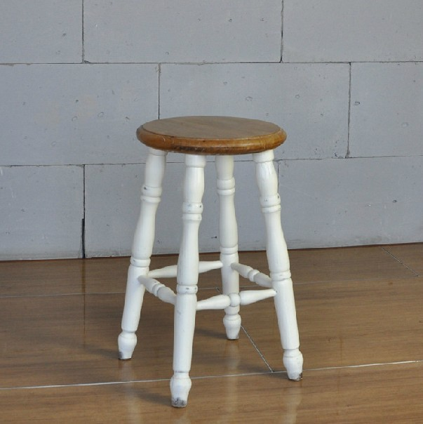 ... French American country to do the old vintage wood stool / bar stool / chair ... & stool metal Picture - More Detailed Picture about French American ... islam-shia.org