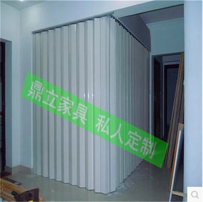 Environmental protection material Thickened type PVC folding door ...