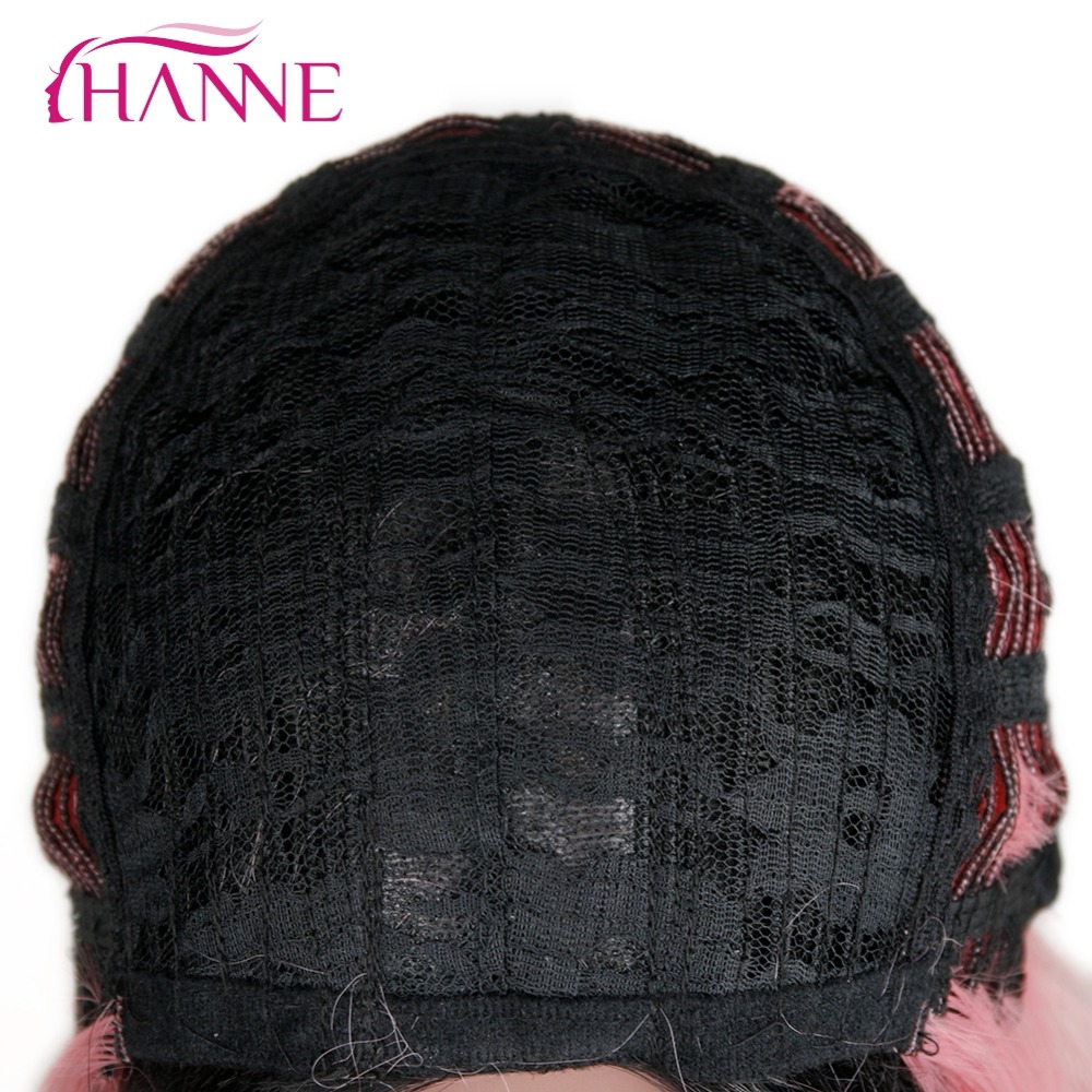 synthetic straight wig11