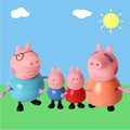 4pcs peppaed pig Toys PVC Action Figures Family Member Pig Toy Juguetes Baby Kid Birthday Gift