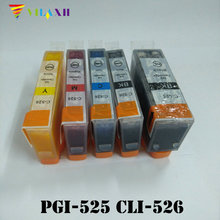 Computer Office - Office Electronics - PGI-525 CLI-526 Ink Cartridges For Canon PGI525 CLI526 PIXMA IP4950 IP4850 IX6550 MG5150 MG5250 MG5350 MX715 MX885 MX895