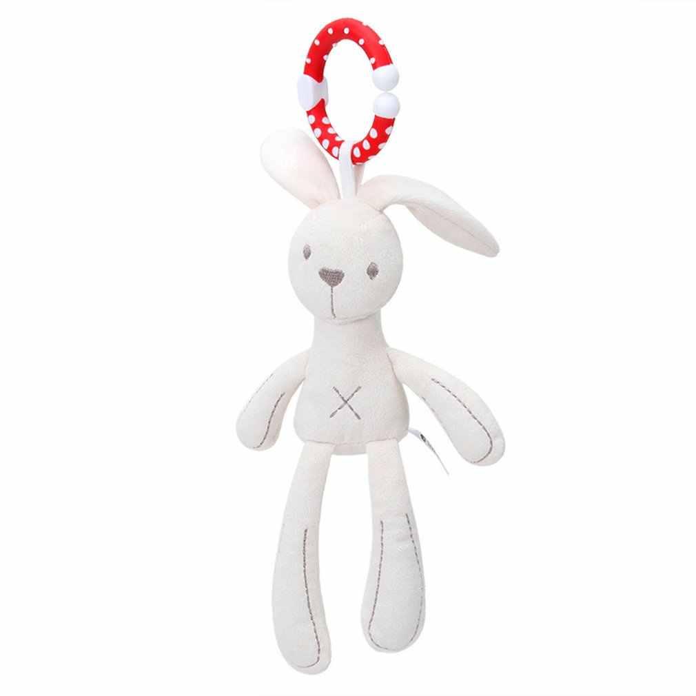 Pie largo de peluche de felpa de conejo oso bebé almohada para dormir Appress muñeca cama cojín niños juguete regalo