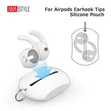Mini Silicone Eartips Storage Case for Airpods Anti-lost Carrying Bag Pouch for Earpods