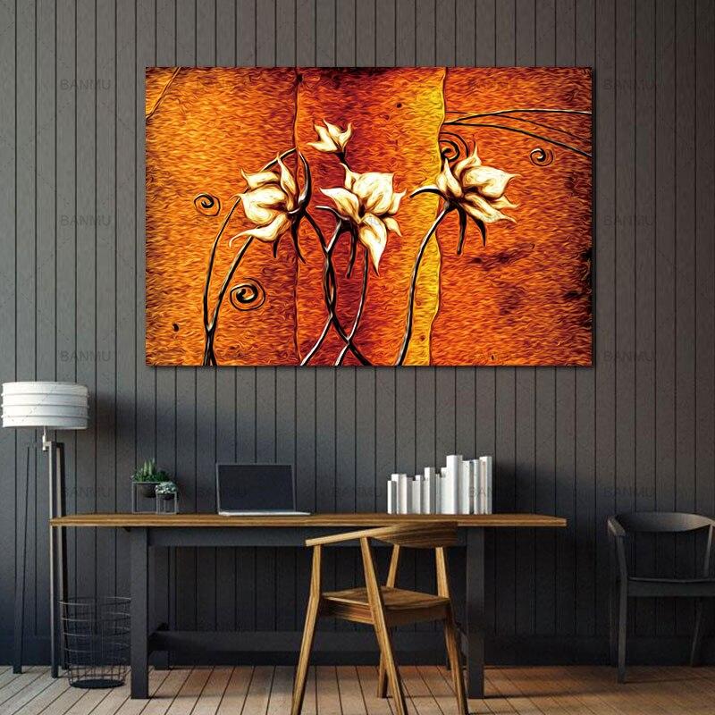 Obraz Obraz na plátně Obraz na plátně Dekorace domácnosti Dekorace na zeď Art Modulární obrázek na plátně pro obývací pokoj Stěna Bez rámečku