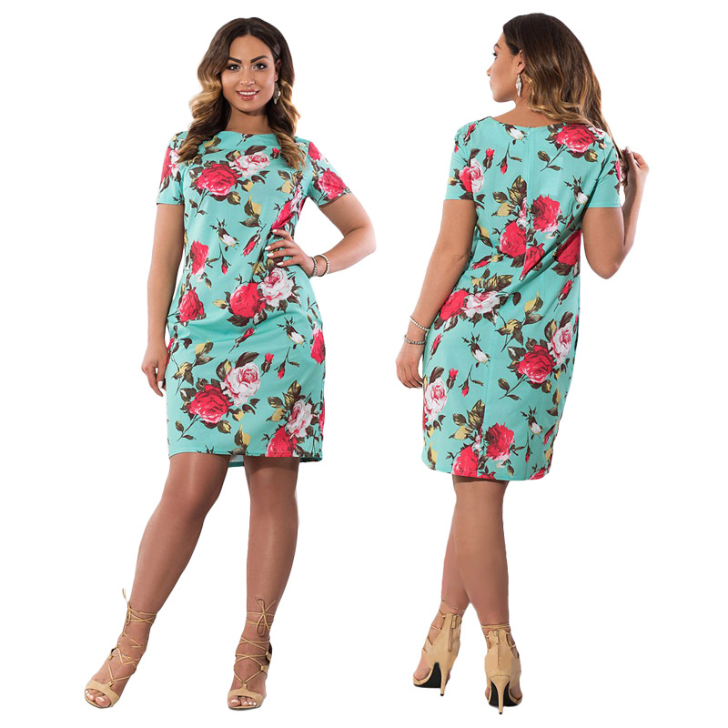 HTB1j0iLXf HK1JjSszfq6A1pVXa7 2019 Autumn Plus Size Dress Europe Female Fashion Printing Large Sizes Pencil Midi Dress Women's Big Size Clothing 6XL Vestidos