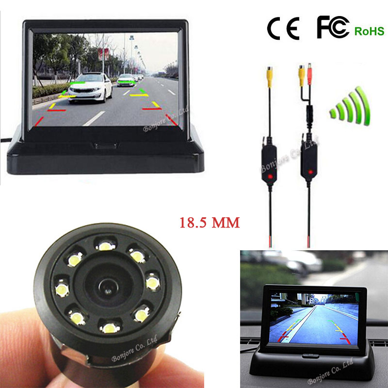 Wireless Parking camera 8 infrared Light nigh vision back up rearview font b cam b font