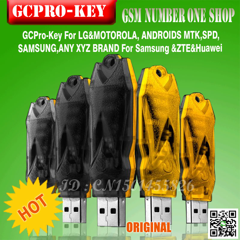 new 2016 GC pro key from gpg team work first MTK phone free hk post shipping
