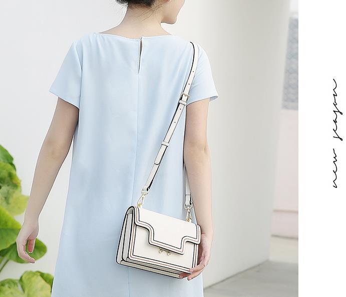 White Carré Main Petit black En Épaule Femmes Mode Concepteur Sac Pack Sacs Mini blue Bandoulière À Véritable Paquet D'embrayage Cuir UaTUXW1p