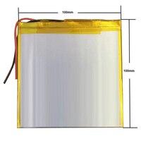 Mejor marca de batería de 3 7 V batería de polímero de litio de 35100100 de 30100100 de energía móvil 5000 MAH DIY de la computadora de la tableta 30101100|Baterías y energía auxiliar de tableta| |  -