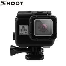 SHOOT 45m Diving Waterproof Case for GoPro Hero 5 Black Camera Gopro Hero 5 Case Mount Go Pro 5 Accessories