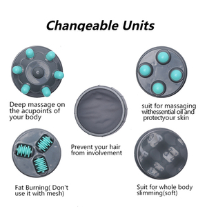 Image 3 - Corps minceur masseur machine magnétique perte de poids thérapie cou masseurs électrique cellulite vibrant corps massage rouleau