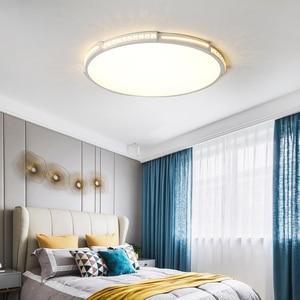 Image 5 - Crystal Ceiling Lamp diameter 42/52/80cm for living room bedroom Acrylic Modern LED Ceiling Lights lamparas de techo plafondlam