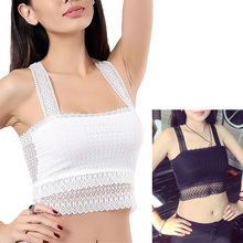 New Style Fashion Women Sexy lingerie Casual Butterfly Lace Tank Top Lady Camisole Tops Openwork Breathable crop Top casual style scoop neck openwork multi layered sleeveless tank top for women