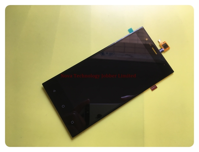"""Novaphopat 5"""" Black Sensor For Highscreen Boost 3 SE / Boost 3 SE Pro LCD Display + Touch Screen Digitizer Screen Assembly"""