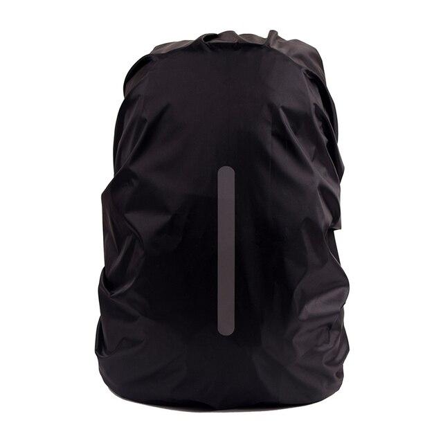 높은 품질 안전 배낭 레인 커버 반사 방수 가방 커버 야외 캠핑 여행 방수 방진
