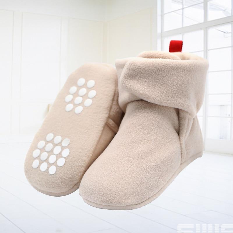 NEW Baby Newborn First Walkers Unisex Cozie Faux Fleece Bootie Winter Warm Infant Toddler Crib Shoes Classic Floor Boys Girls
