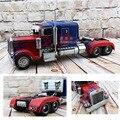 Rueda caliente de la vendimia modelo de coche película optimus prime transformación truck toys toys 1:12 diecast metal de coches de segura fresco para la colección
